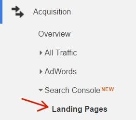 landing-page-google-analytics