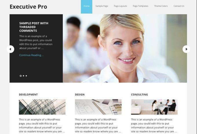Executive-Pro-StudioPress