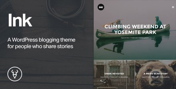 Ink - WordPress Story Theme