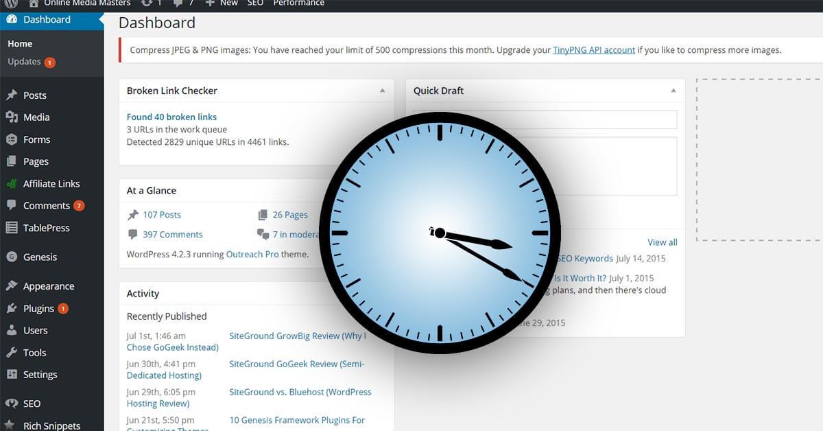 12 Ways To Fix a Slow WordPress Admin Panel (Dashboard)