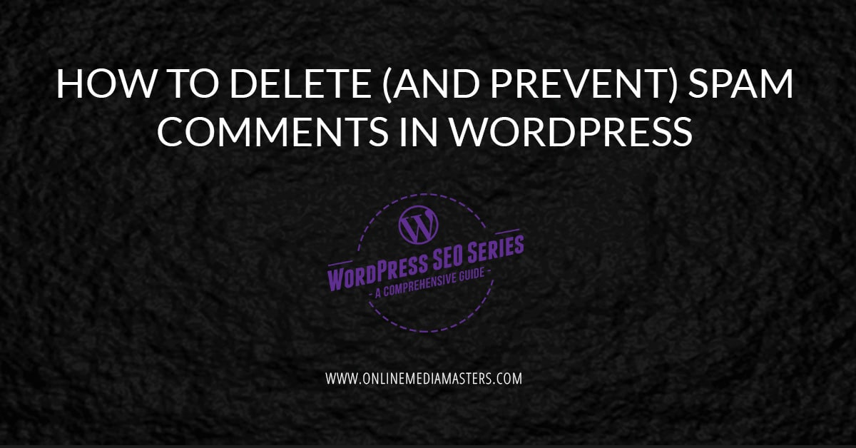 How To Delete (And Prevent) Spam Comments In WordPress
