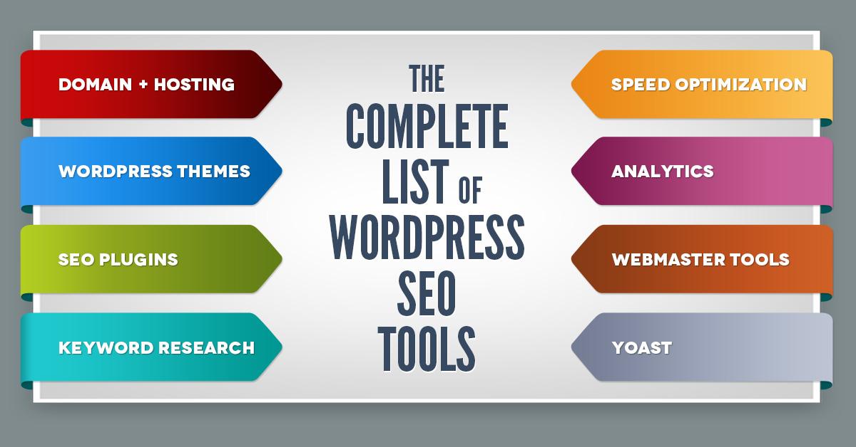WordPress SEO Tools (List Of Plugins, Tools, Resources)