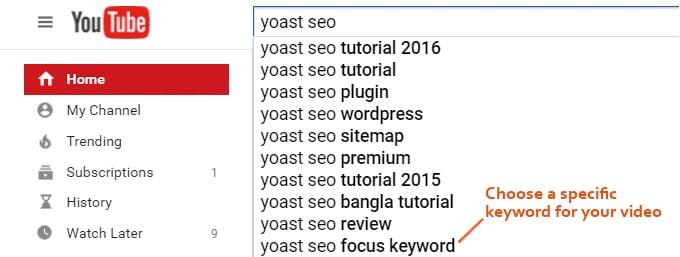Youtube-SEO-Keywords