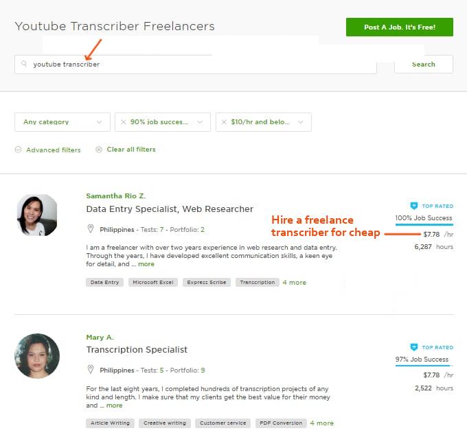 Youtube-Video-Transcriber