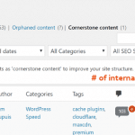 Yoast Text Link Counter Feature