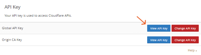 loudflare-Global-API-Key