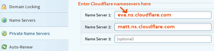 HostGator Nameservers