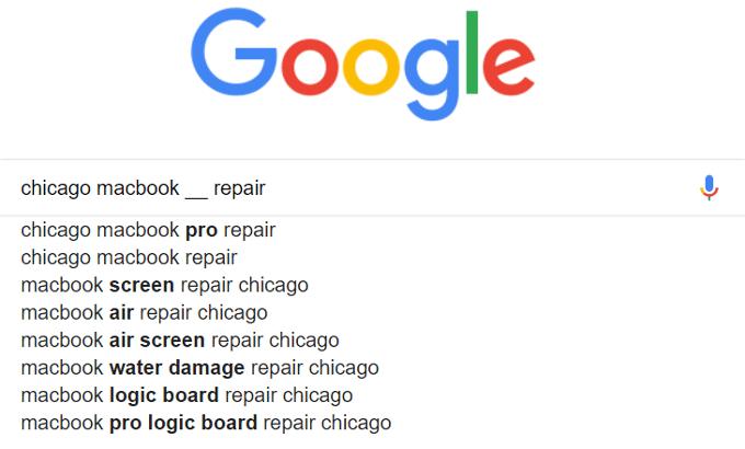 Chicago Keywords