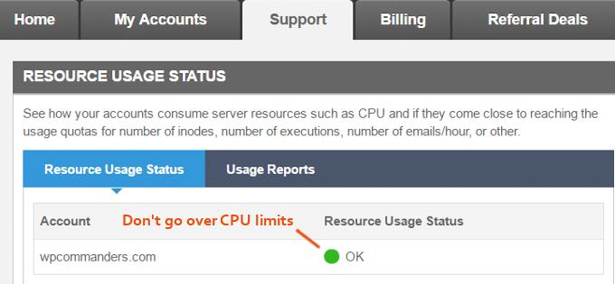 SiteGround-CPU-Limits