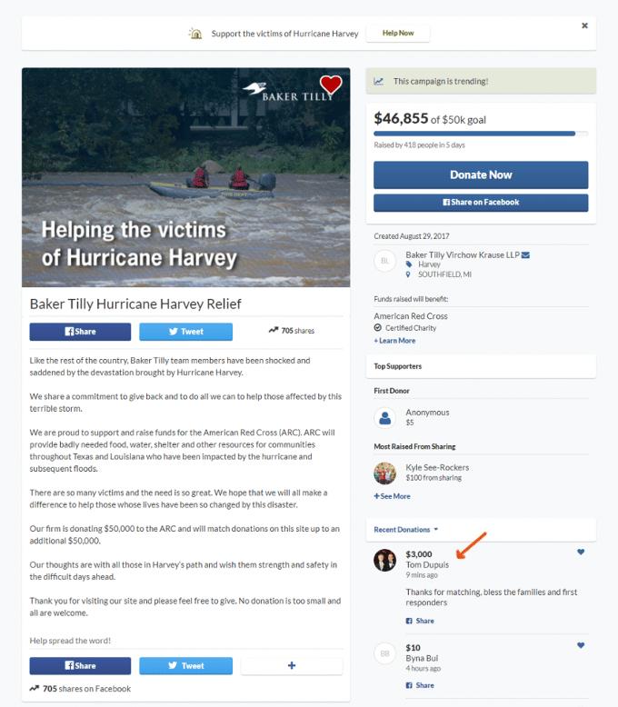 Harvey-Donation
