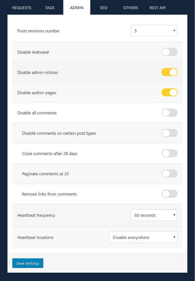 WP-Disable-Admin