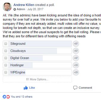 2017-WordPress-Hosting-Poll