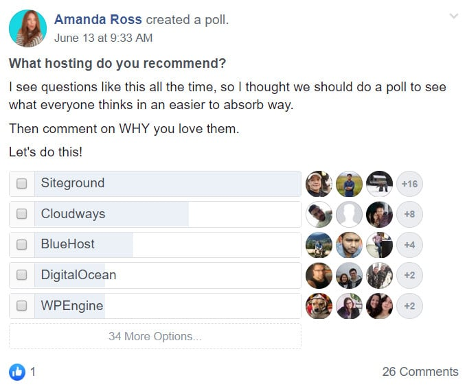 2019 Hosting Poll