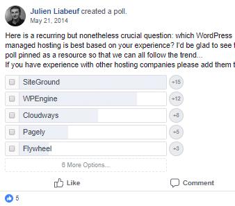 Managed-WordPress-Hosting-Poll