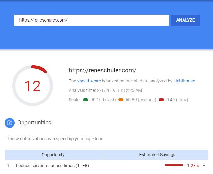 Reduce Server Response Time Under 200ms