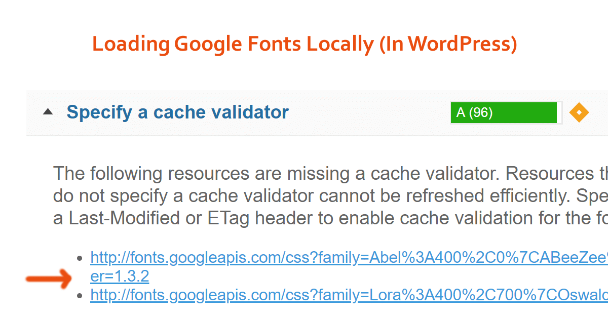 How To Load Google Fonts Locally In WordPress (GTmetrix Item)