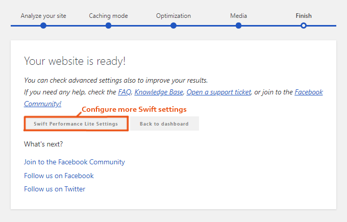 Swift-Performance-Setup-Wizard-Finish