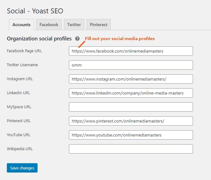 Yoast-Social-Settings