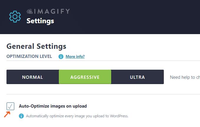 Imagify Optimize Images On Upload