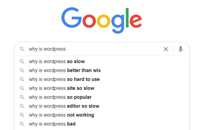 Slow WordPress Focus Keyword