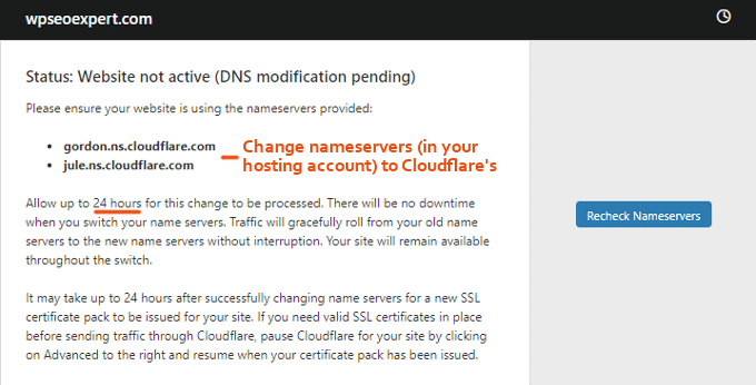 Cloudflare-Nameservers