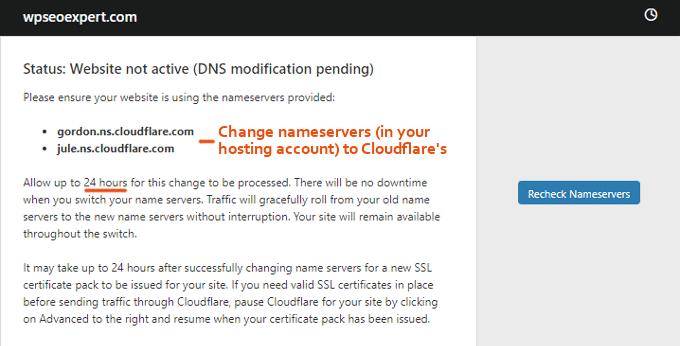 Cloudflare-Nameservers