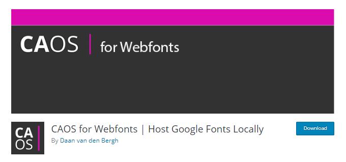 CAOS-Fonts