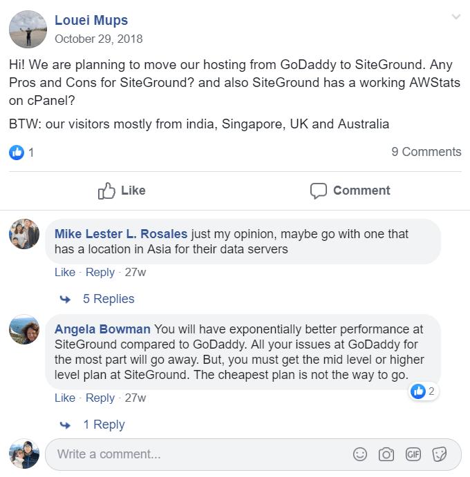 Godaddy-vs-SiteGround-Opinion