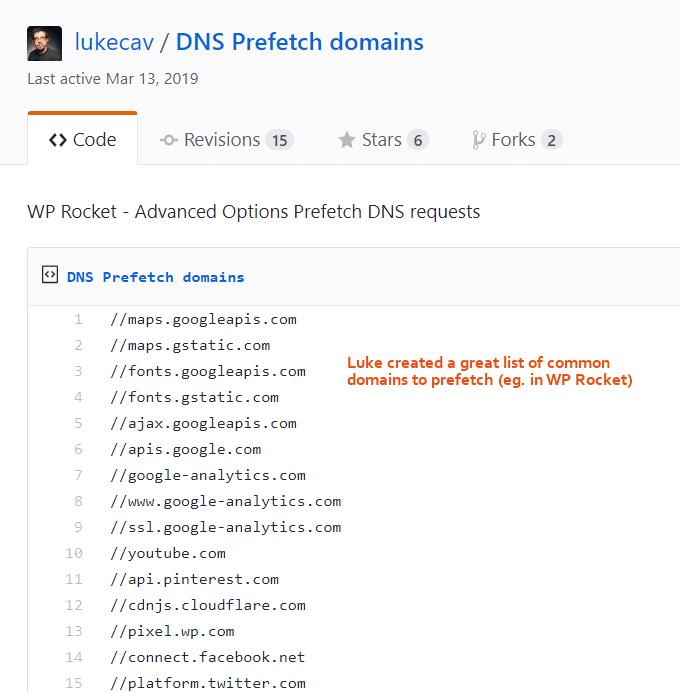 Prefetch-DNS-Requests-WP-Rocket