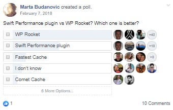 Swift vs WP Rocket