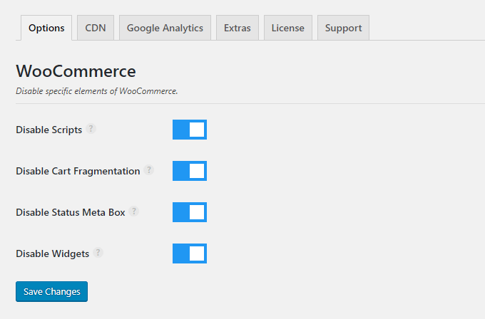 perfmatters woocommerce optimization