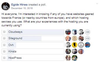 Hosting Recommendations Facebook
