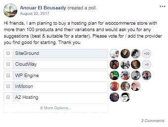WooCommerce-Hosting-FB-Poll