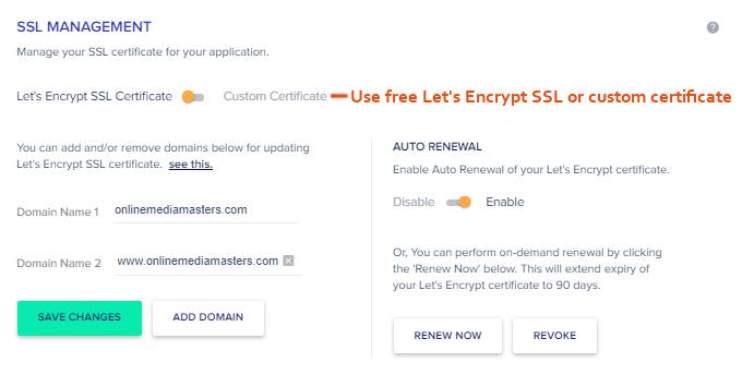 Cloudways-Free-SSL