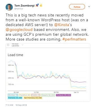 Kinsta Google Cloud Migration