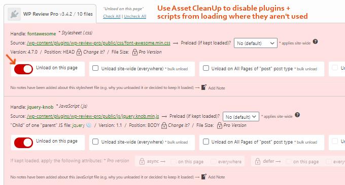Disable WordPress External Scripts
