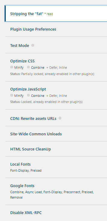 Asset CleanUp Settings
