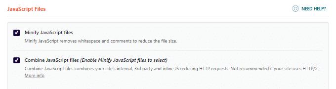 Minify Combine JavaScript Files
