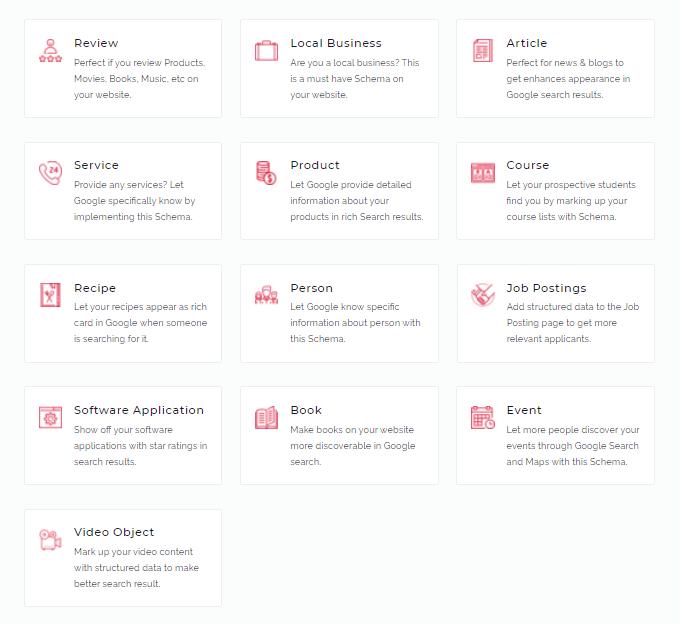 Schema Pro Types