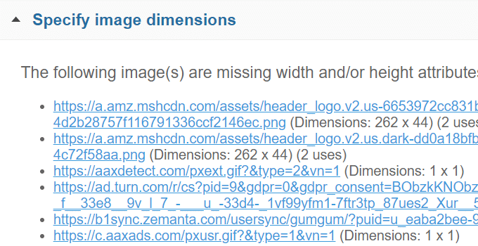 Specify Image Dimensions WordPress