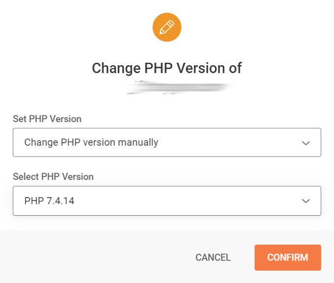 SiteGround PHP 7.4.14