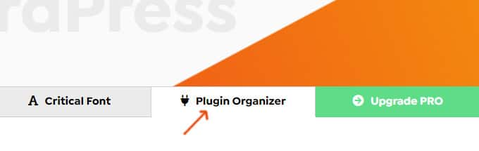 Swift Plugin Organizer Tab
