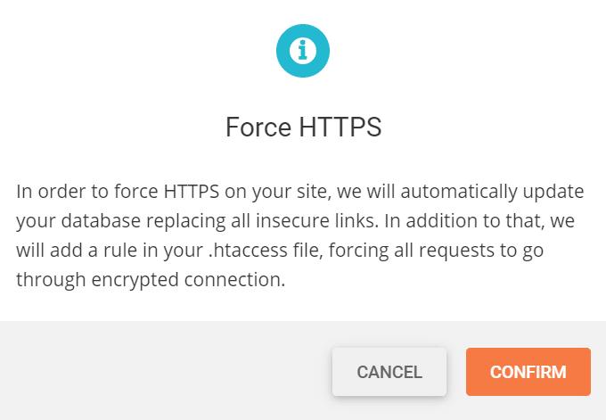 SG Optimizer Force HTTPS
