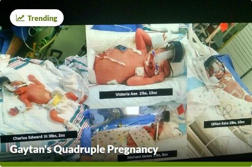 Gaytans Quadruple Pregnancy GoFundMe