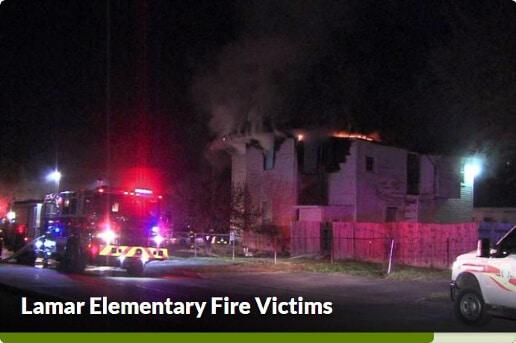 Lamar Elementary Fire Victims