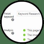Yoast Focus Keywords 2