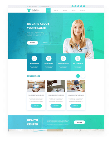 dentist web Home