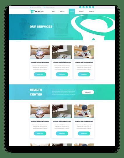 dentist web Services