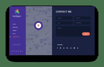 web design artist contact