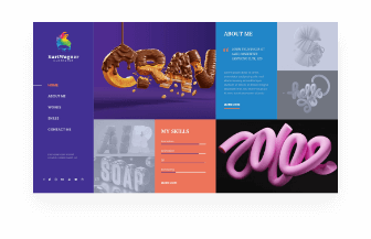 web design artist home